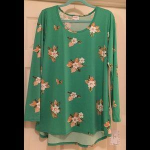NWT XL Lynnae Bright Green Floral ❤️😳 I'm 😍🎉